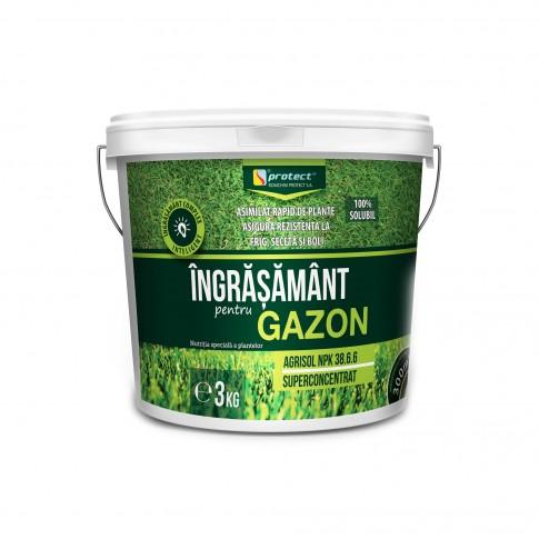 Ingrasamant gazon Agrisol, granule, superconcentrat, 3 kg