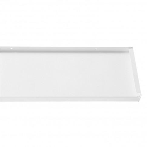 Glaf aluminiu exterior pentru ferestre, alb RAL 9016, 18 x 300 x 0.16 cm