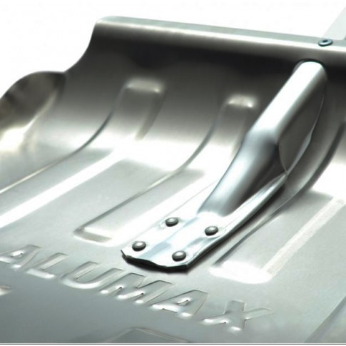 Lopata pentru zapada, aluminiu, Alumax Ergo ILEMAXAE, cu coada aluminiu, 150 cm