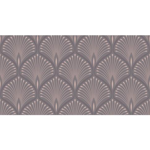Tapet fibra textila, model frunze, Grandeco Artdeco GV3102, 10 x 0.53 m