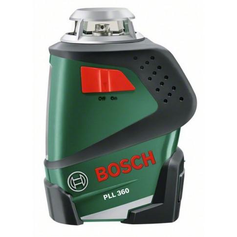 Nivela cu laser, cu linii, Bosch PLL 360, cu autonivelare, cu stativ