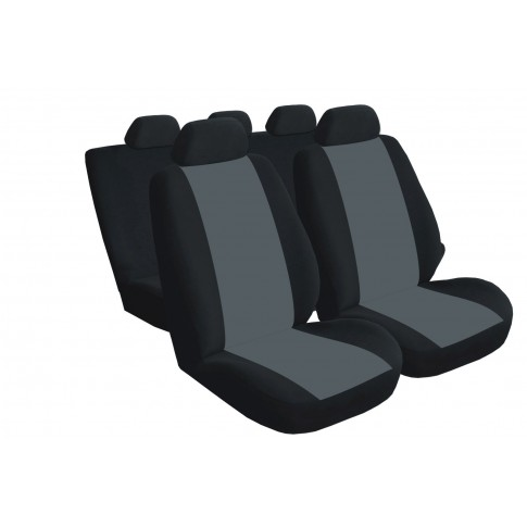 Huse auto pentru scaune Carmax Standard, gri, set 9 bucati