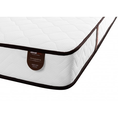 Saltea pat Ideal Sleep, 1 persoana, ortopedica, cu spuma poliuretanica + arcuri, 90 x 200 cm