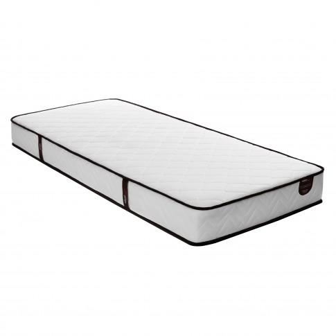 Saltea pat Ideal Sleep, 1 persoana, ortopedica, cu spuma poliuretanica + arcuri, 90 x 190 cm