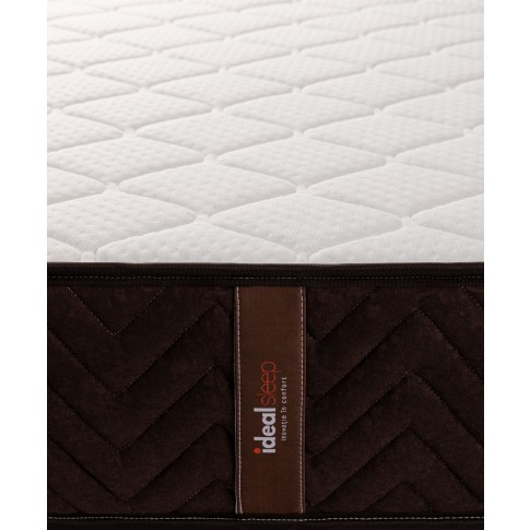 Saltea pat Ideal Sleep, 1 persoana, superortopedica, cu spuma poliuretanica + arcuri, 80 x 200 cm