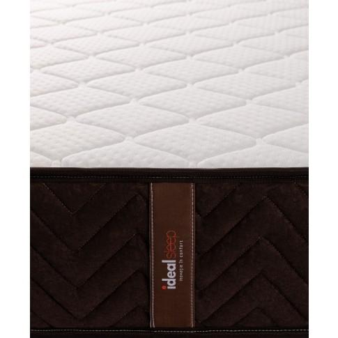 Saltea pat Ideal Sleep, 1 persoana, superortopedica, cu spuma poliuretanica + arcuri, 120 x 190 cm