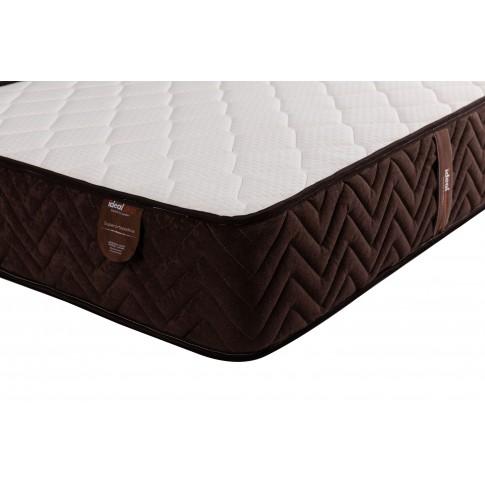Saltea pat Ideal Sleep, 1 persoana, superortopedica, cu spuma poliuretanica + arcuri, 60 x 120 cm