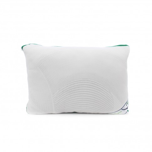 Perna pentru dormit Meltem Natur Therm puf siliconizat antialergic + bumbac alb 50 x 70 cm