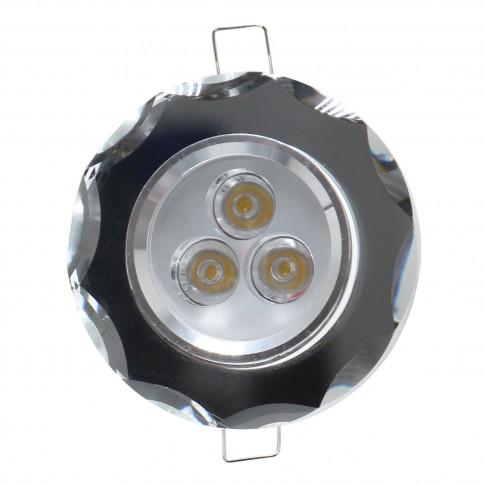 Spot LED incastrat CR 34 70311, 3W, lumina neutra, crom