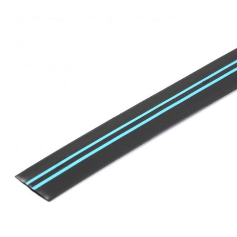 Banda pentru irigatii prin picurare Aqua Traxx, 8 mil, D 17 mm, distanta orificii 10 cm, rola 500 m