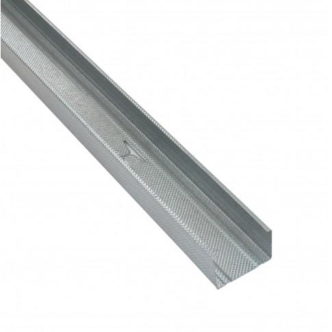 Profil special gips carton Rigips, tabla din otel zincat, Rigiprofil CW 75 x 50 x 2600 mm