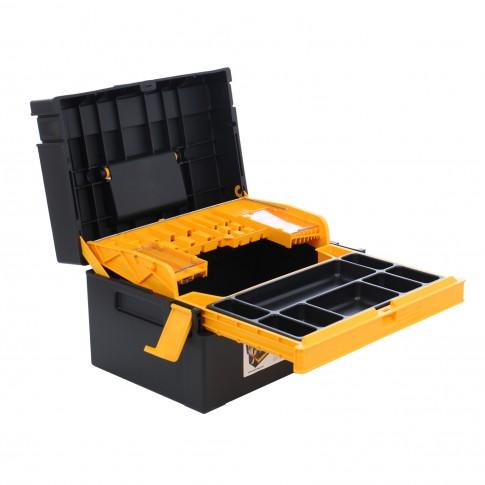 Cutie pentru scule cu sertar, Compacto CP01, 380 x 270 x 220 mm