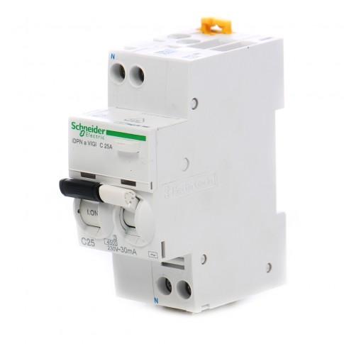 Intrerupator automat modular diferential Schneider Electric iDPNa Vigi A9D34625, 1P+N, 25A, curba C