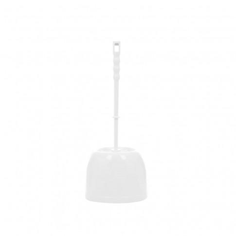 Perie WC Bisk Aga 80502, polipropilena, alb