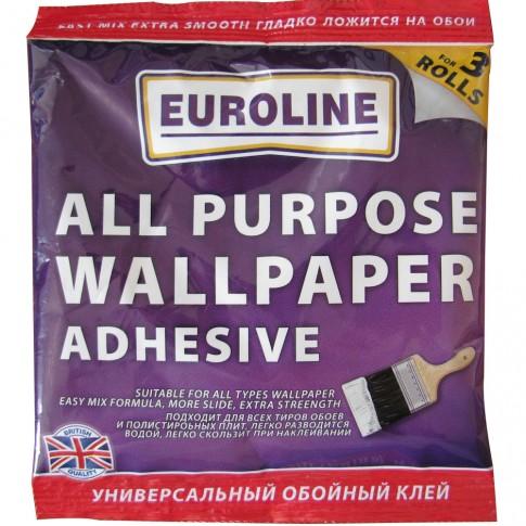 Adeziv pentru tapet, interior, Euroline, 60 g