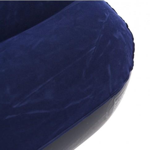 Saltea gonflabila Intex, pentru camping, 2 persoane, 203 x 152 x 22 cm + 2 perne si pompa