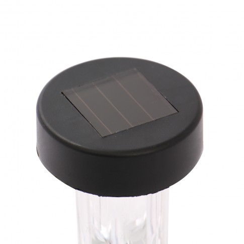 Lampa solara LED Stick, plastic, H 31 cm