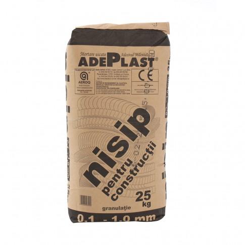 Nisip pentru constructii, Adeplast, interior / exterior, 25 kg