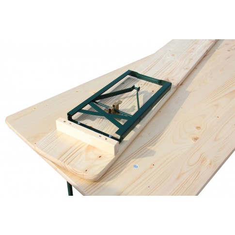 Set berarie, masa dreptunghiulara, cu 2 banci, clasa A, 180 x 70 cm