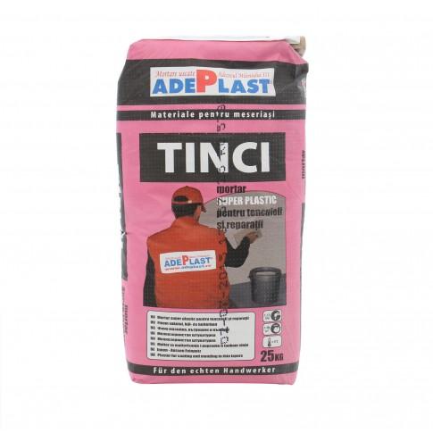 Mortar tinci pentru tencuieli si reparatii, Adeplast, gri, interior / exterior, 25 kg