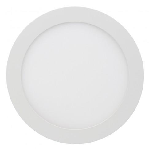 Spot LED incastrat Hoff, 18W, lumina neutra, alb, D225 mm