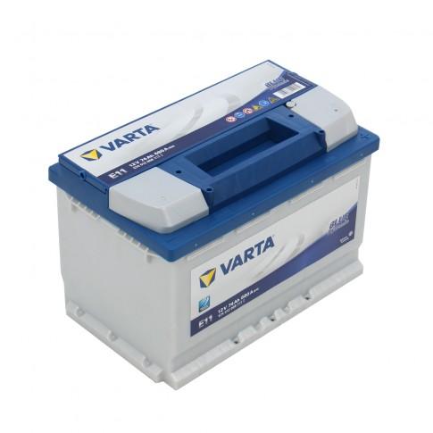 Baterie auto Varta Blue Dynamic 12 V, 74 Ah 680 A, 27,8 x 17,5 x 19 cm