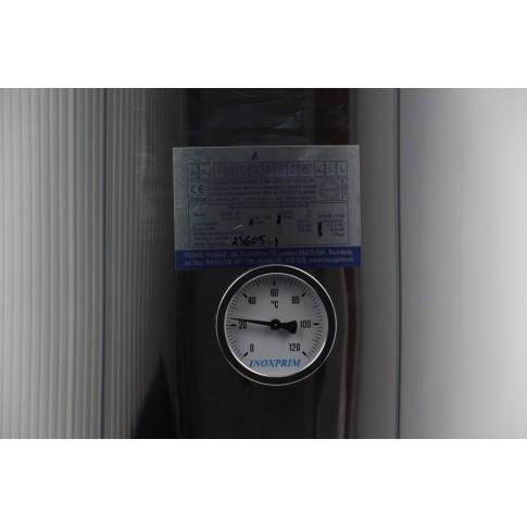 Boiler pe lemne si electric INXE L 110, de baie, rezistenta 2 kW, 230 V, 110 L