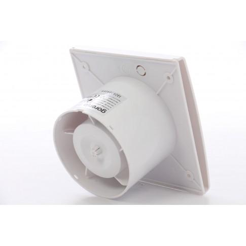 Ventilator standard Gorenje BVX 100 WS, D 100 mm, 15 W, 2400 RPM, 70 mc/h, alb