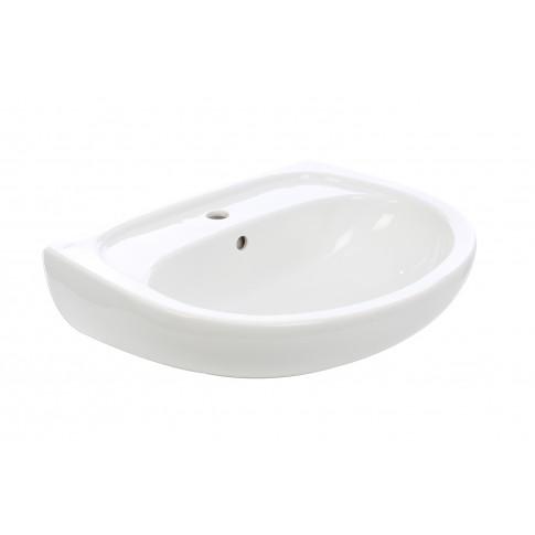 Lavoar Kolo Solo 71163, alb, rotunjit, 60 cm