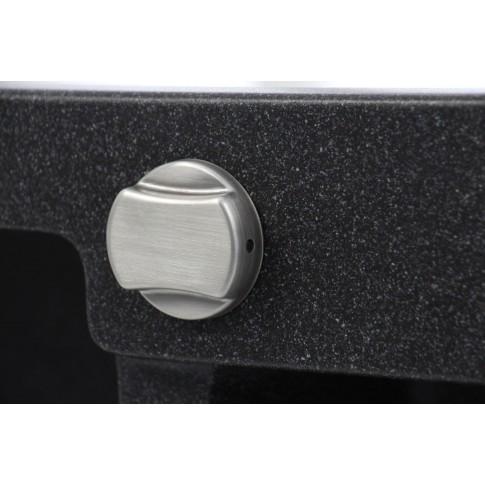 Chiuveta bucatarie compozit magranit Paxton neagra cuva stanga / dreapta 100 x 50 cm