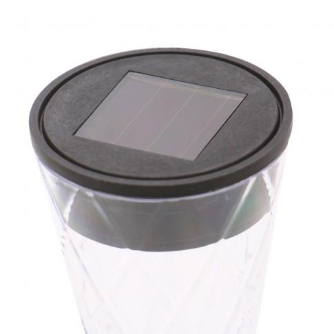Lampa solara LED Hoff, plastic, H 37.5 cm