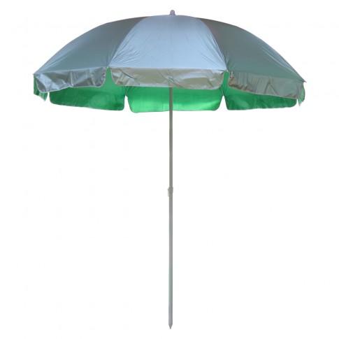 Umbrela soare pentru terasa WH002-3 rotunda structura metal verde D 240 cm-8-28/32