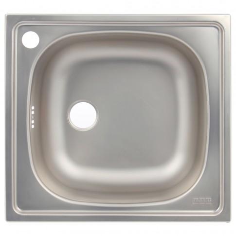 Chiuveta bucatarie inox satinat Franke CIN 610 8820410 patrata 47 x 43.5 cm