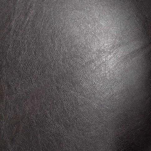 Scaun bucatarie / living fix Tulipan, tapitat, cadru gri + imitatie piele wenge