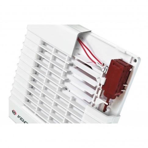 Ventilator axial automat cu intrerupator fir  Vents 125 MAV, D 125 mm, 22 W, 2400 RPM, 185 mc/h