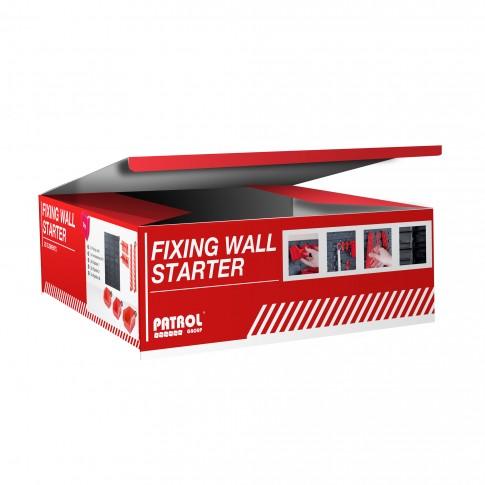 Organizator perete, Patrol Fixing Wall Starter, set 22 elemente pentru depozitare