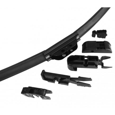 Stergator parbriz, flexibil, full adaptor, 26 - 65 cm, 1 buc