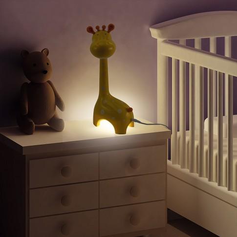 Lampa birou LED LA9/G, 6W, girafa, galbena