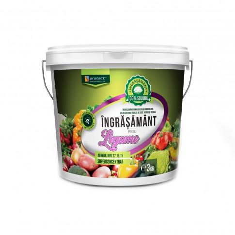 Ingrasamant pentru legume Agrisol, granule, superconcentrat, 3 kg