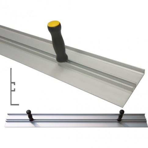 Dreptar aluminiu, pentru constructii, Lumytools LT18142, tip L, 2 m