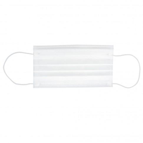 Masca pentru protectie igienica, polipropilena netesuta, alb, 50 buc / set