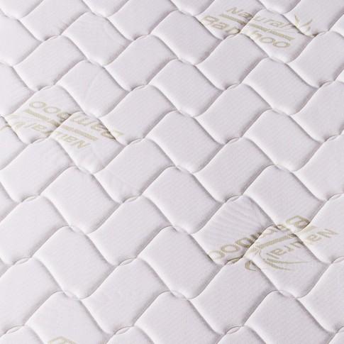 Saltea pat Magniflex Memory Bamboo, ortopedica, cu spuma poliuretanica + memory, fara arcuri, 130 x 190 cm