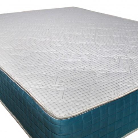 Saltea pat Viscotex Memory Visco Gel, superortopedica, cu arcuri + spuma memory gel, 140x190 cm