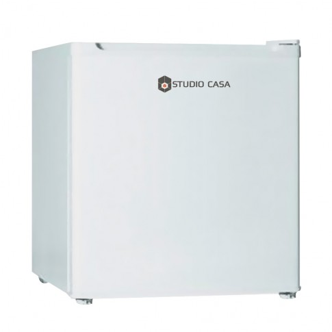 Frigider Studio Casa MB645 A+, mic, cu 1 usa si 1 raft, 46 l, clasa A+, alb, inaltime 49.6 cm, termostat reglabil