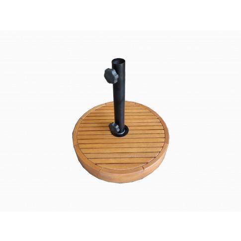 Suport umbrela OK450/05, lemn, forma rotunda, D 50 cm