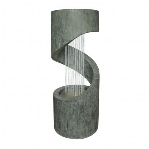 Fantana arteziana Grunman MZ14005GA, decoratiune gradina, cu pompa recirculare apa, 31.5 x 79.5 cm