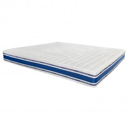 Saltea pat Bien Dormir Optimus, ortopedica, cu spuma poliuretanica, cu arcuri, 160 x 200 cm