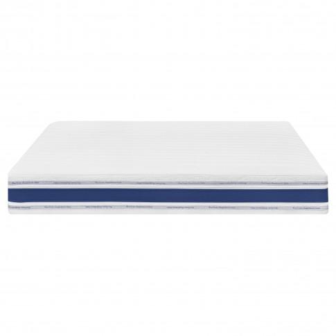 Saltea pat Bien Dormir Optimus Pocket, 140 x 200 cm, ortopedica, cu spuma poliuretanica, cu arcuri