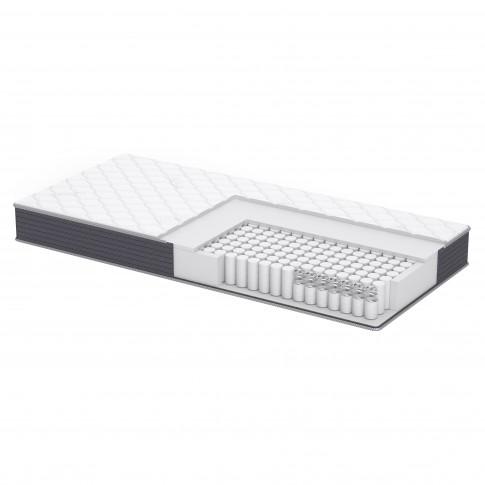 Saltea pat Dormeo Options Silver, cu spuma Ecocell + Formacell, cu arcuri, 80 x 190 cm