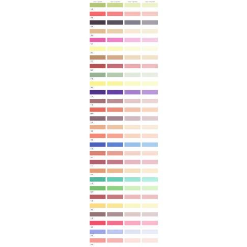 Pigment Renew Universal, portocaliu 107, pentru vopsea lavabila, 70 ml
